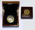 """Сувенирная медаль в футляре """"Вид Кремля"""""""